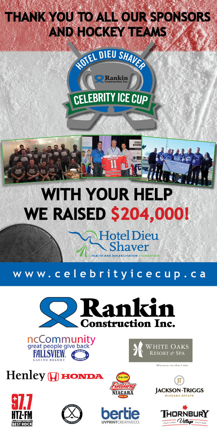 2018 Celebrity Ice Cup Thank you