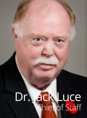 Dr. Jack Luce, Chief of Staff, Hotel Dieu Shaver, St. Catharines, Ontario