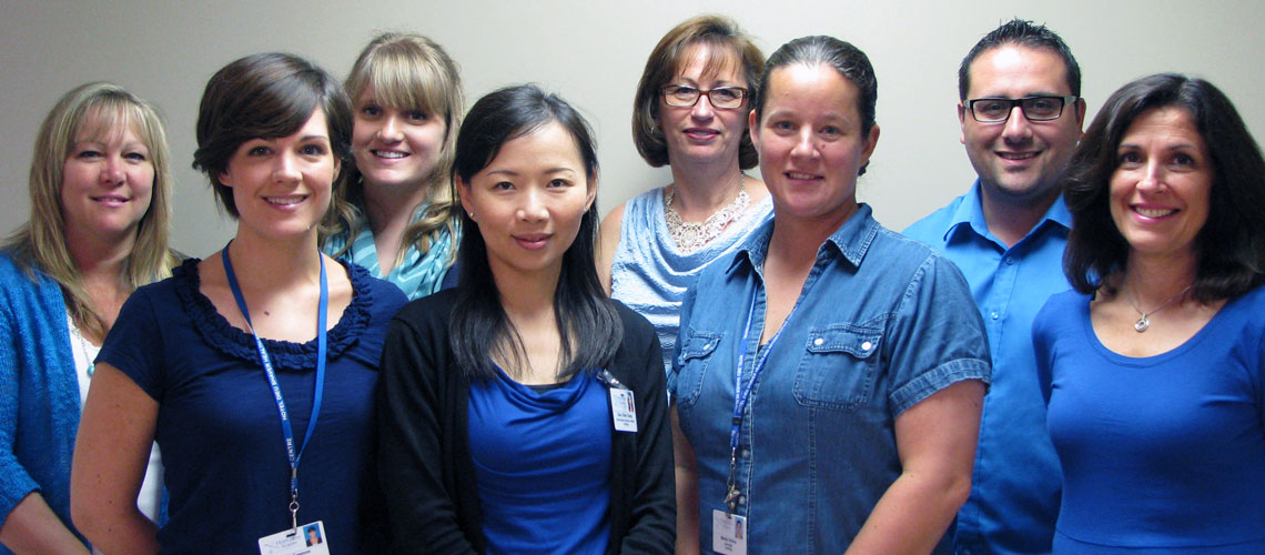 Members of Our Care Team, Hotel Dieu Shaver, St. Catharines, Ontario