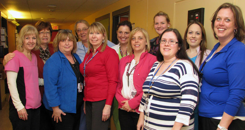 The Restorative Care Team, Hotel Dieu Shaver, St. Catharines, Ontario